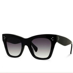Accessories - 🆕Celinee Sunglasses Black Cat Eye Sunglasses